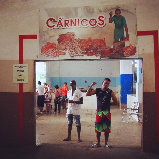 お肉ボーイ #SantiagoDeCuba #Cuba