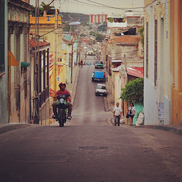 坂の街 #SantiagoDeCuba #Cuba