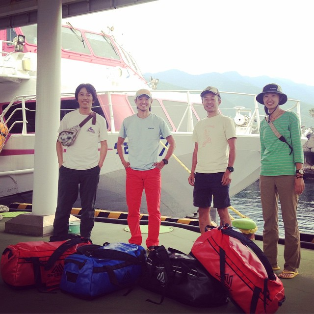 Arrived at Yakushima island. #yakushima #fastpacking