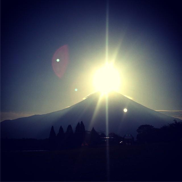 Goood mooorning Mt. Fuji