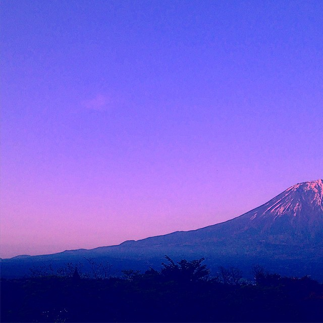 Mt. Fuji #fuji #japan #sunset