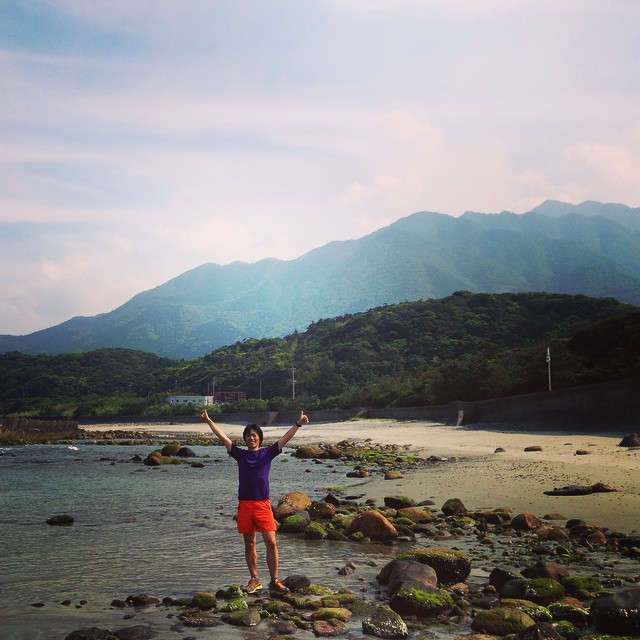 Yakushima sea to sea 52km completed ;-) #yakushima #fastpacking