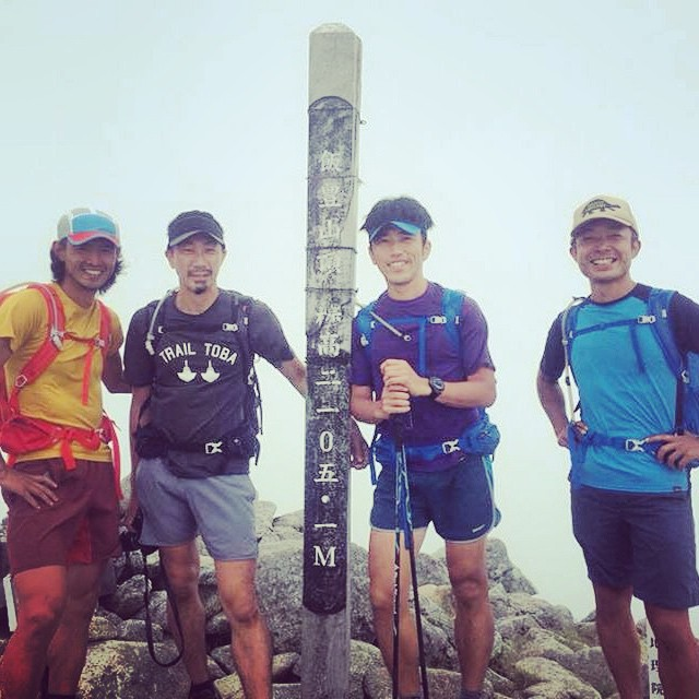 飯豊山山頂にて #Fastpacking #japanmountains #MtIide #飯豊山
