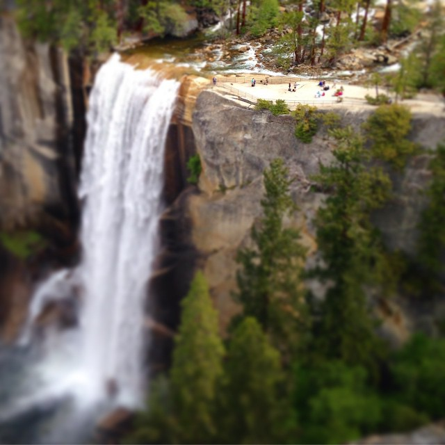 Vernal fall #yosemite #vernallfall #california