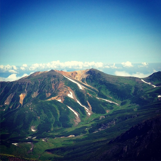 Yeah! #Daisetsuzan #Hokkaido #japanmountains #Fastpacking
