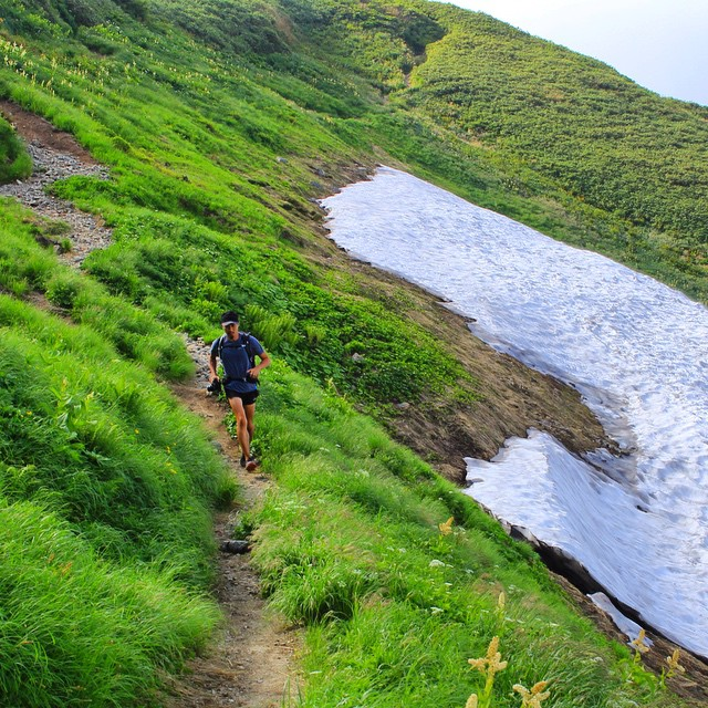 #飯豊山 #Fastpacking #japanmountains #trailrunning